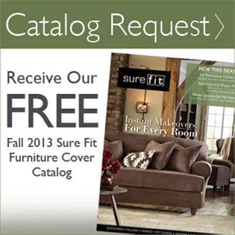 sure fit slipcovers catalog sure fit slipcovers our new fall 2013 sure fit slipcover