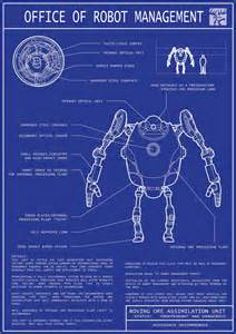 making a blueprint robot blueprints 01 by jordanoth on deviantart