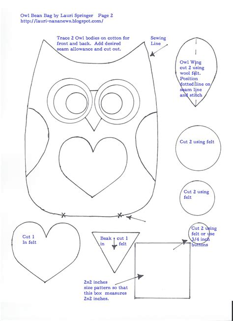 felt owl pattern templates free owl pattern template liked this pattern you may