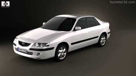 how to learn about cars 1998 mazda b series regenerative braking mazda 626 gf sedan 1998 by 3d model store humster3d com youtube