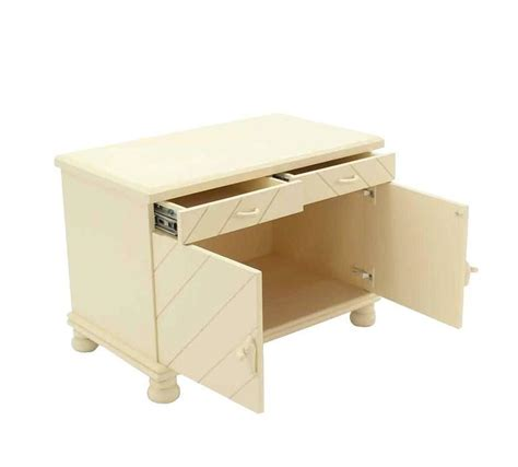 White Nightstands For Sale Pair Of White Textured Paint Nightstands For Sale At 1stdibs