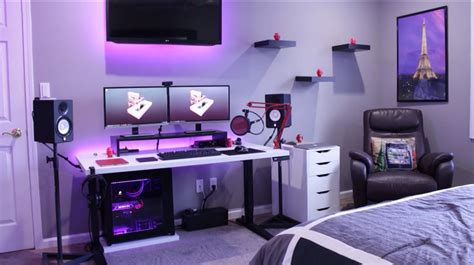 gaming room setup cool gaming bedrooms pilotproject org
