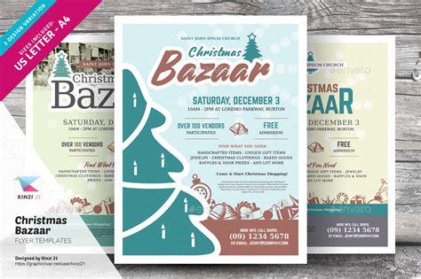 Christmas Bazaar Flyer Templates By Kinzi21 Graphicriver Bazaar Flyer Template