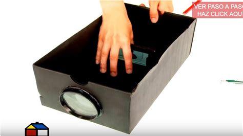 trio casero grabado con un celular c 243 mo hacer un proyector casero para tu celular paso a paso