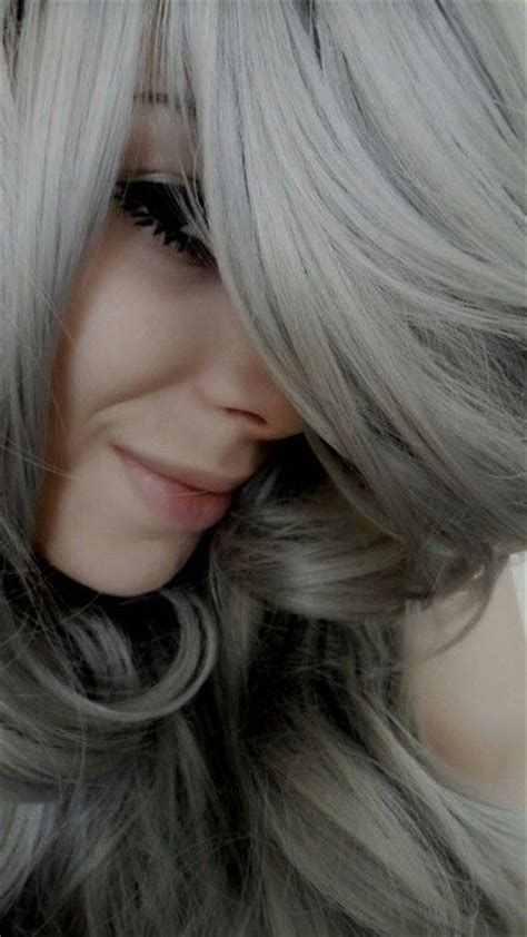 using pale ash blonde hair dye to transition to gray pinterest the world s catalog of ideas