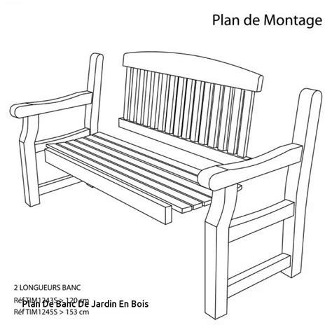 Plan De Banc De Jardin En Bois by Plan De Banc De Jardin En Bois Id 233 Es D 233 Coration Int 233 Rieure