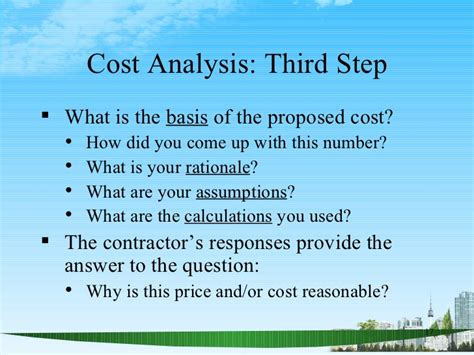 Why Mba Responses by The Basics Of Cost Analysis Ppt Mba