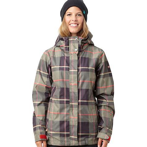 army patterned ski jacket roxy jet womens insulated snowboard jacket x large