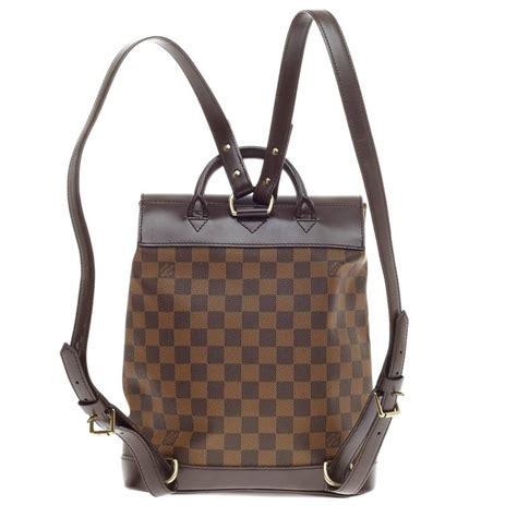 Jual Belt Louis Vuitton Essential V Brown Gold Mirror Quality louis vuitton soho backpack damier at 1stdibs