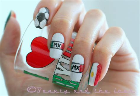 imagenes de uñas decoradas con la bandera de colombia u 241 as decoradas con banderas u 209 as decoradas nail art