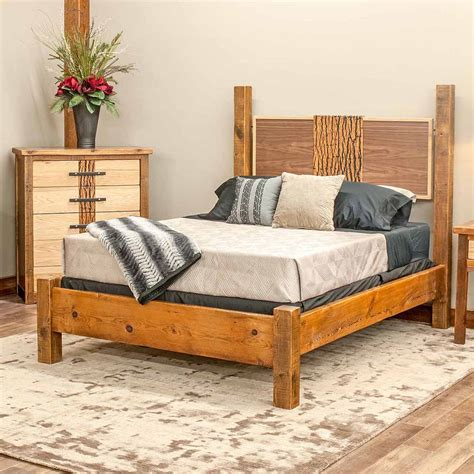 Mendocino Bed Reclaimed Barn Wood Tm Designs Mendocino Bed Frame