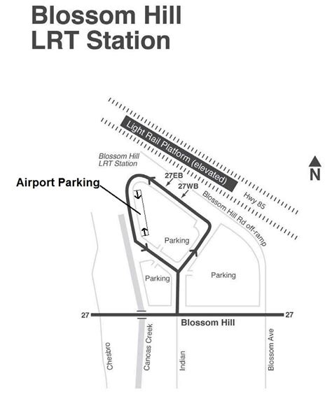 light rail park and ride compact