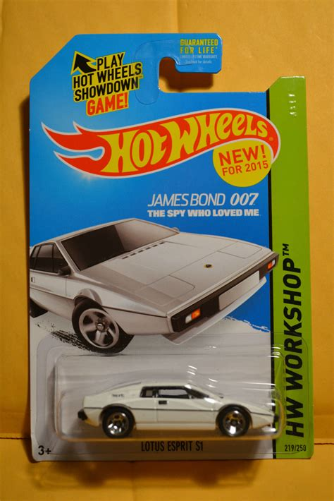 Hotwheels Lotus Jamesbond look 2015 bond lotus esprit s1 s guide