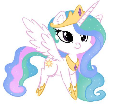 Chibi Celestia My Little Pony Friendship Is Magic