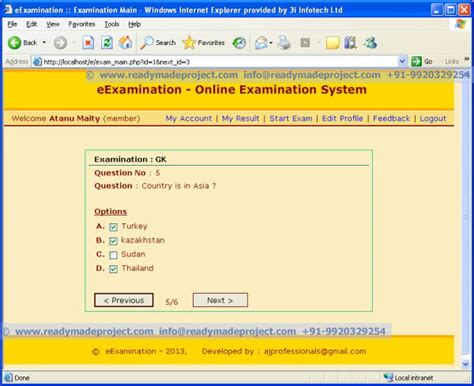 Online Tutorial Project In Php | synopsis download for mca bca be for final year student