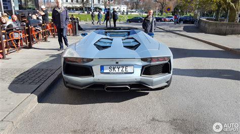 1 Lamborghini Aventador Lp700 4 by Lamborghini Aventador Lp700 4 Roadster 1 May 2017
