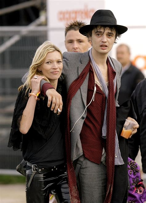 Kate Moss And Pete Doherty by Kate Moss And Former Boyfriend Pete Doherty Kate Moss