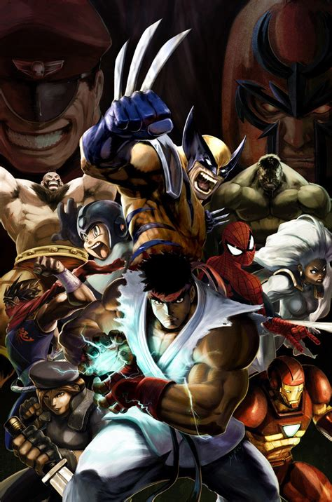 marvel vs capcom 2 marvel vs capcom 2 promo by udoncrew on deviantart