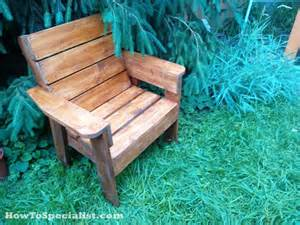How To Build A Patio Chair Diy Patio Chair Howtospecialist How To Build Step By