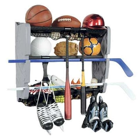Sports Storage Rack by Sports Equipment Storage Racks Organizers Spacesavers