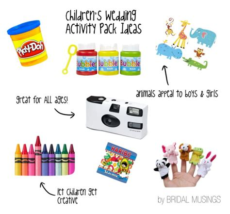 activity ideas what to include in a child s wedding activity pack