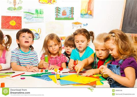 painting for preschool free of 6 on creative class stock photo image