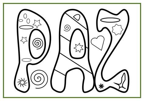 imagenes para dibujar sobre la paz colecci 243 n de materiales para trabajar el d 237 a de la paz