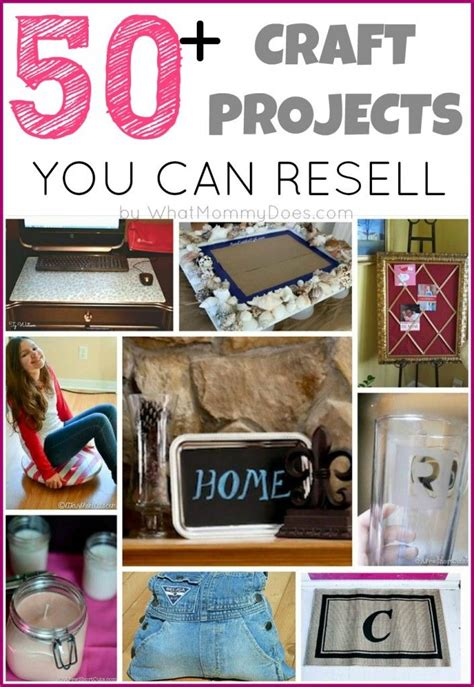 diy projects to sell 50 crafts you can make and sell updated for 2018