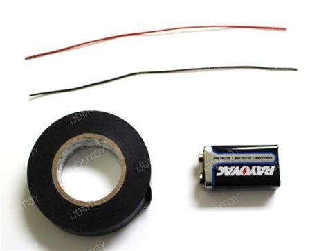 Make Your Own Led Light Bulb Make Your Own Led Light Bulb Tester From 9v Battery