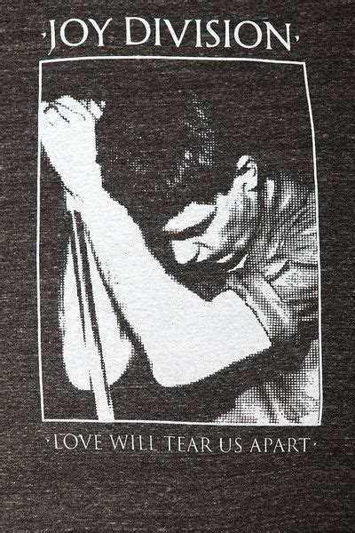 love will tear us appart urban outfitters joy division love will tear us apart tee