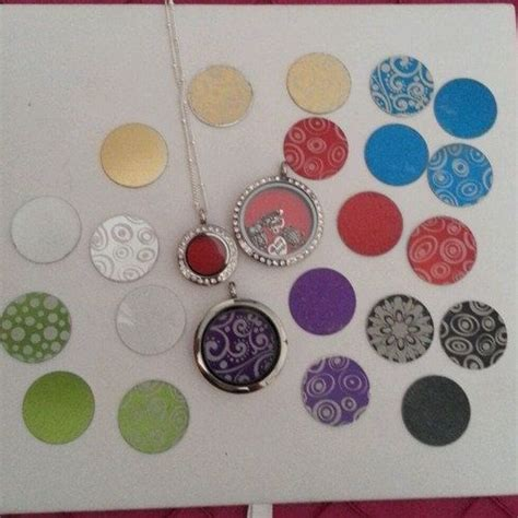 Origami Owl Plate - origami owl south hill style coin or plate for xs or mini