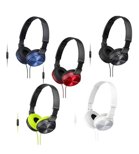 Sony Mdr Zx310ap sony mdr zx310ap lightweight headphones powerful balanced stereo sound with folding design