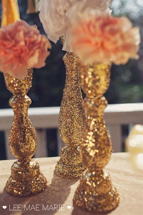 Decorating Vases With Glitter by 25 Best Ideas About Glitter Centerpieces On Diy Wedding Centerpieces Diy Wedding