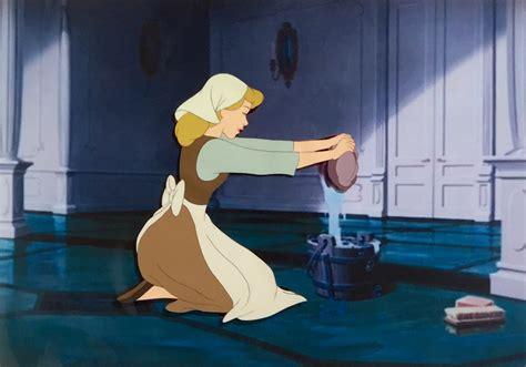film cinderella original animation collection original production animation cel of