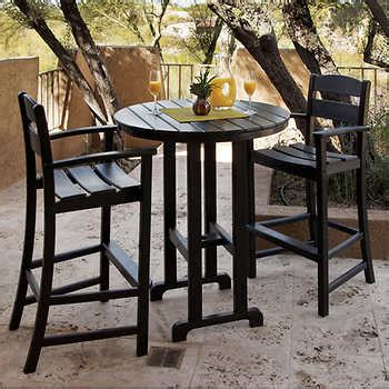 Outdoor Bar And Stools Set by Outdoor Bar Stools Sets Costco