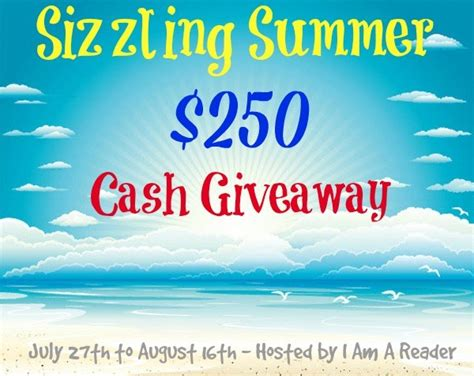 Summer Giveaway - sizzling summer giveaway b kristin mcmichael