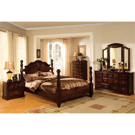 3 piece bedroom sets furniture of america cathie 3 piece queen panel bedroom