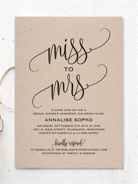 free bridal shower invitation templates to print 17 printable bridal shower invitations you can diy