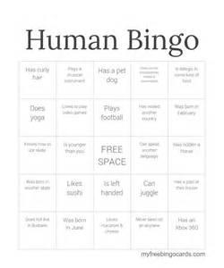 Human Bingo Template by Best 20 Human Bingo Ideas On Icebreaker