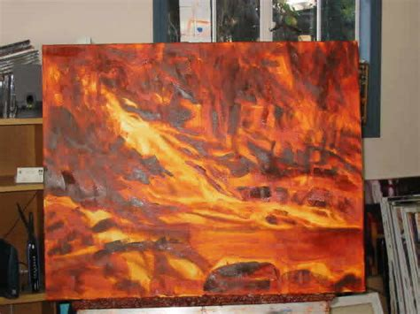 acrylic painting underpainting acrylic painting demonstration by brian simons