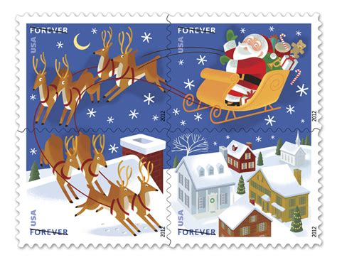 cheap christmas stamps