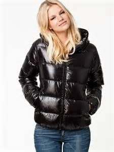 Just Like Down Duvet Black Duvetica Thiacinque Down Jacket Shiny Nylon