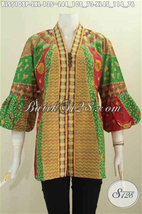 desain baju wanita keren baju batik wanita dewasa desain keren dan elegan blus