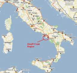Map Of Italy Amalfi Coast gallery for gt amalfi coast map
