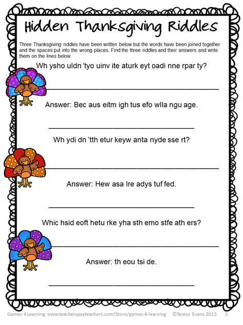 printable thanksgiving word games adults this thanksgiving literacy puzzles freebie has two