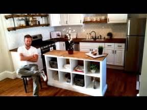 R D Kitchen Fashion Island ikea hack kitchen island diy project youtube