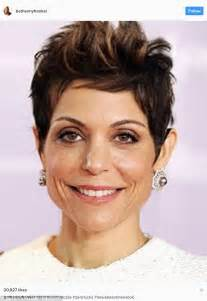 brandi real housewives short hair bethenny frankel wears wig daily mail online