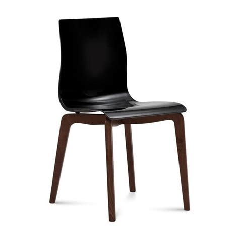 Domitalia Gel Dining Chair In Black And Chocolate Gel S Gel Dining Chairs