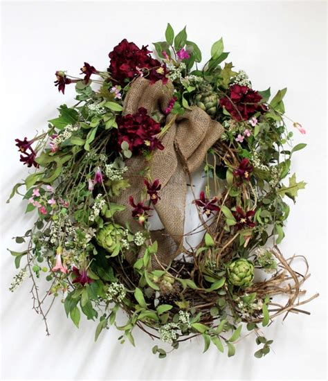 Country Wreaths For Front Door Country Wreath Hanging Shut The Front Door