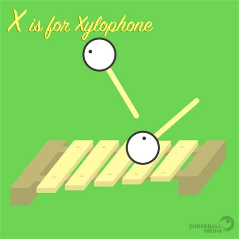 Animal Xylophone x is for xylophone animals from memory